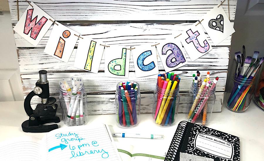 Homework E With Diy School Decor
